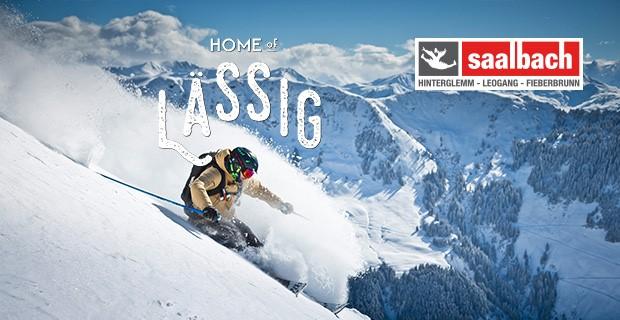 Winterbild mit Bergbahnen LOGO